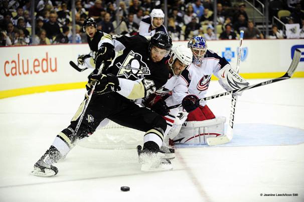 NHL: SEP 25 Preseason – Blue Jackets at Penguins