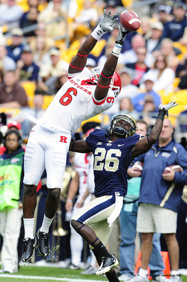 NCAA FOOTBALL: OCT 23 Rutgers at Pittsburgh