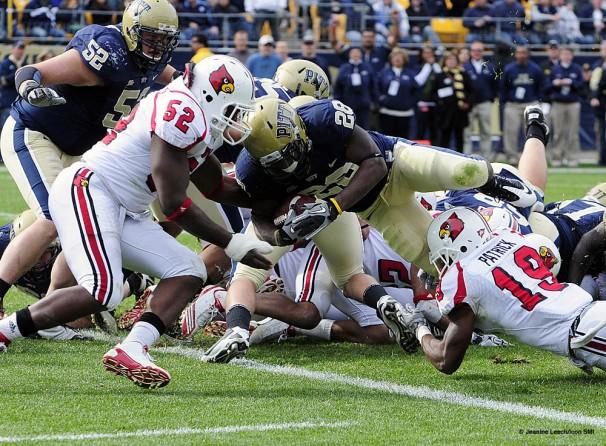 NCAA FOOTBALL: OCT 30 Louisville at Pittsburgh