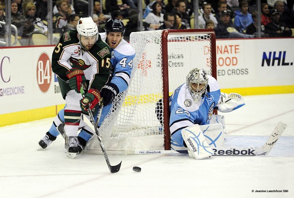 NHL: JAN 08 Wild at Penguins