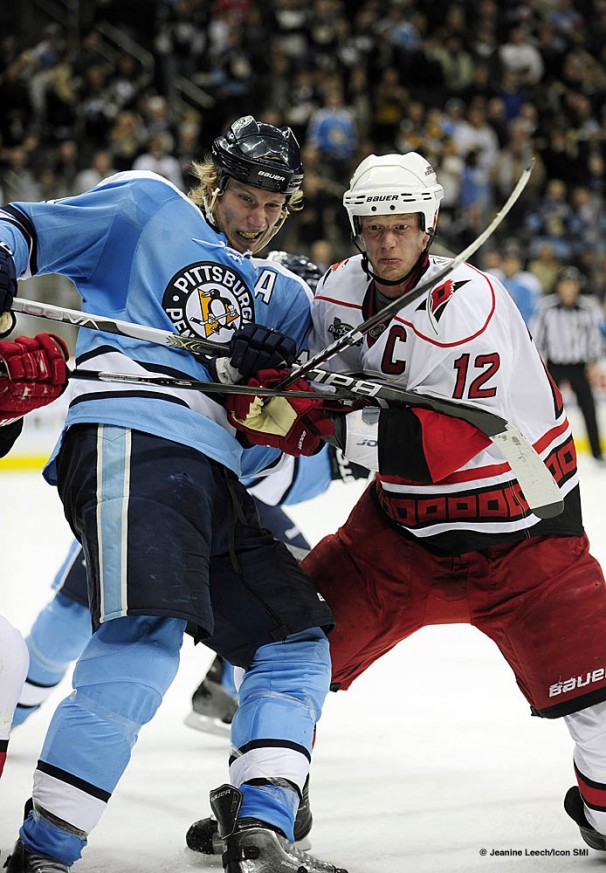 NHL: JAN 22 Hurricanes at Penguins