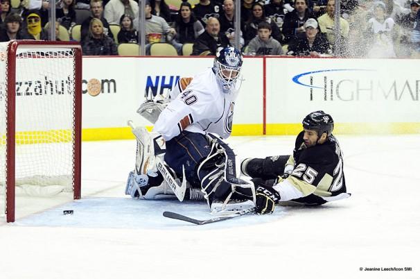 NHL: MAR 13 Oilers at Penguins