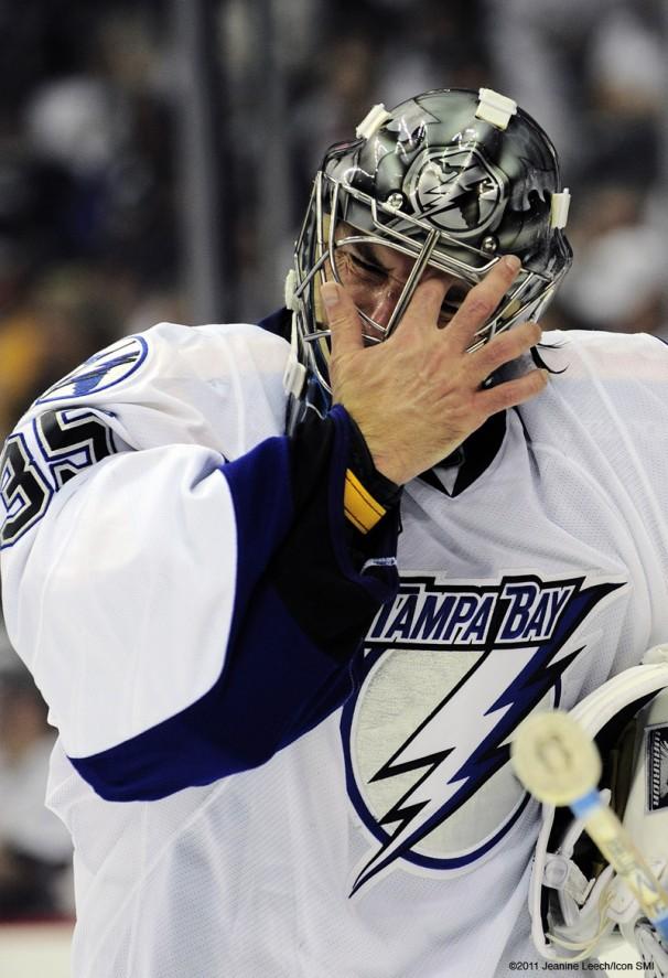 NHL: APR 23 Eastern Conference Quarterfinals – Lightning at Penguins – Game 5