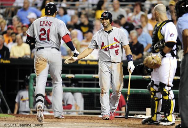 MLB: AUG 17 Cardinals at Pirates