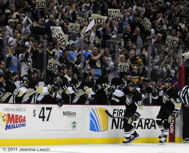 Crosby Scores a Goal