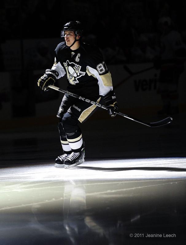 Crosby Skates in the Spotlight