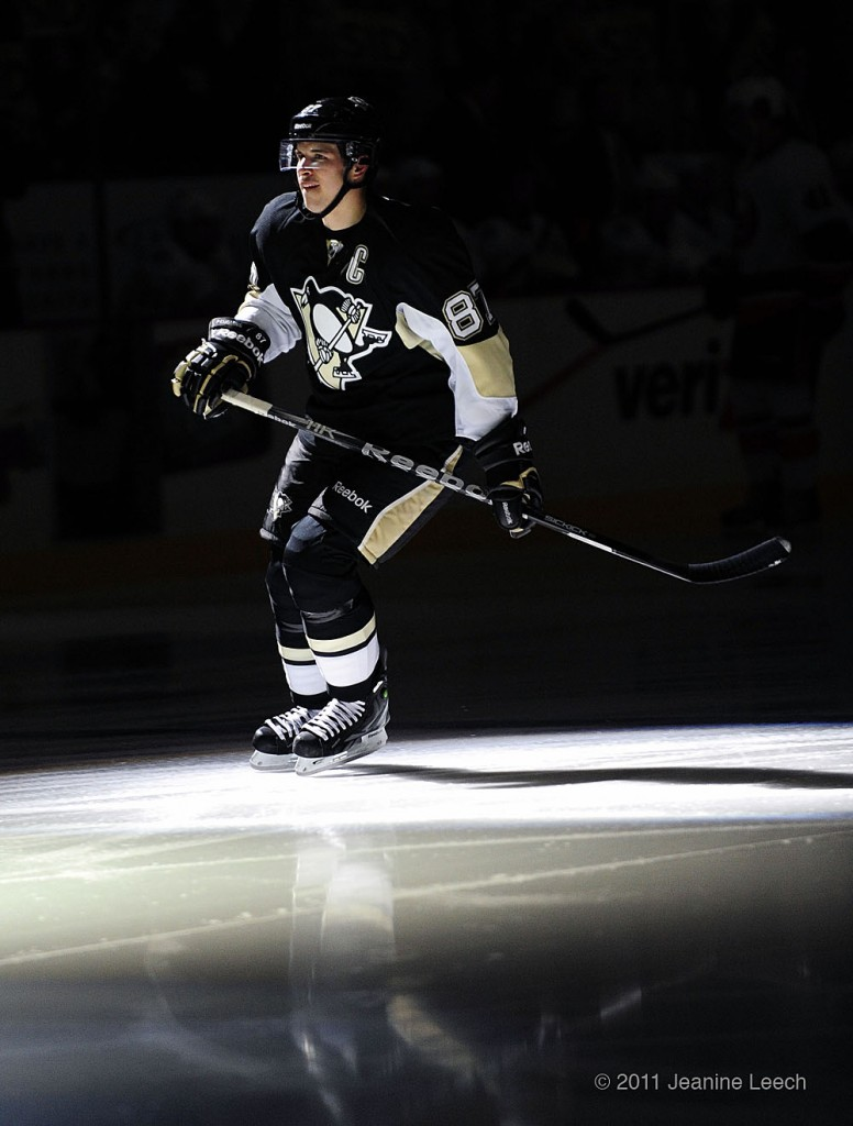 Crosby Skates in the Spotlight