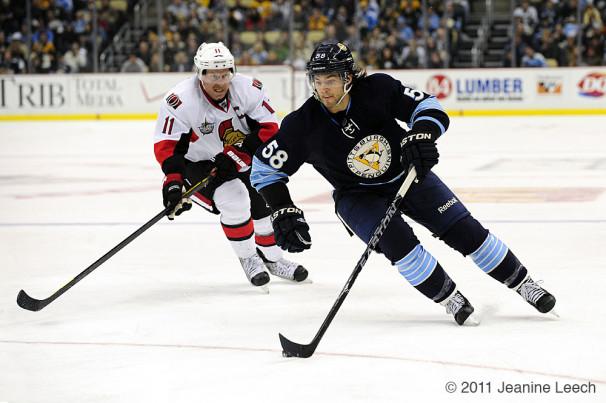 NHL: NOV 25 Senators at Penguins