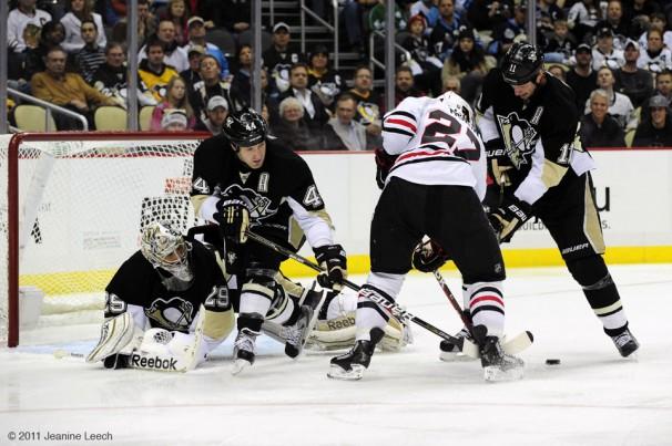 NHL: DEC 20 Blackhawks at Penguins