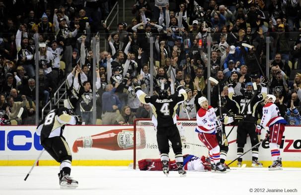 NHL: JAN 22 Capitals at Penguins