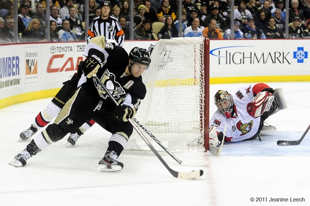 NHL: JAN 10 Senators at Penguins