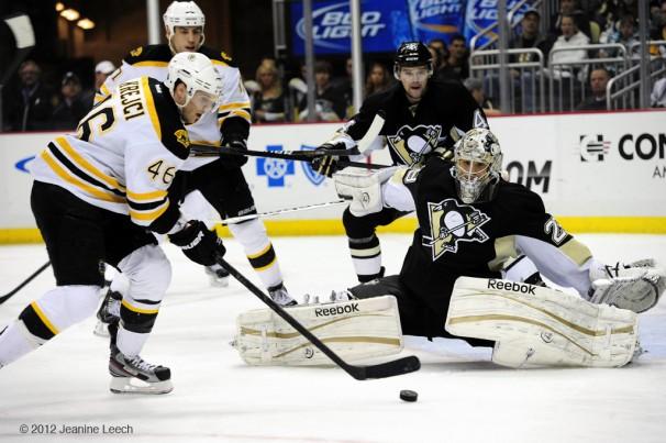 NHL: MAR 11 Bruins at Penguins