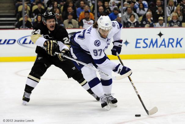NHL: FEB 25 Lightning at Penguins