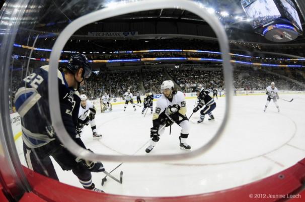 NHL: FEB 26 Blue Jackets at Penguins