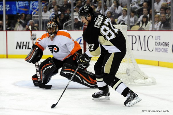 NHL: APR 11 Eastern Conference Quarterfinals – Flyers at Penguins – Game 1