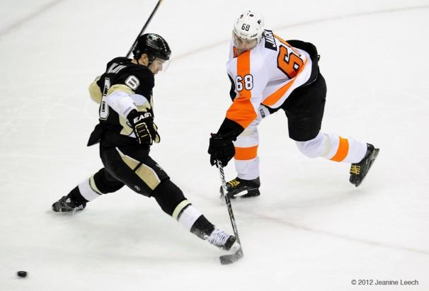 NHL: APR 13 Eastern Conference Quarterfinals – Flyers at Penguins – Game 2
