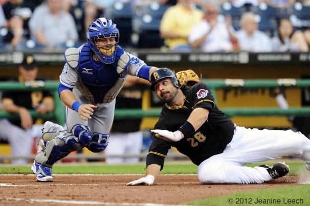 MLB: JUN 08 Royals at Pirates