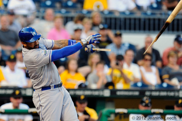 MLB: AUG 15 Dodgers at Pirates
