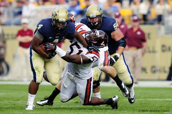 NCAA FOOTBALL: SEP 15 Virginia Tech at Pitt