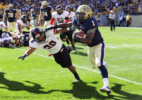 NCAA FOOTBALL: SEP 22 Gardner-Webb at Pitt