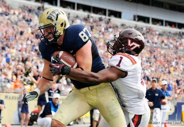 NCAA FOOTBALL: SEP 15 Virginia Tech at Pitt