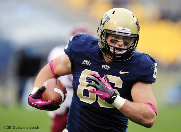 NCAA FOOTBALL: OCT 27 Temple at Pitt