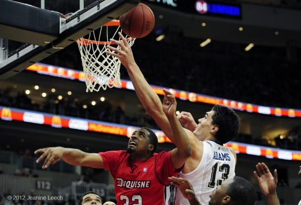 NCAA BASKETBALL: DEC 05 Duquesne at Pitt