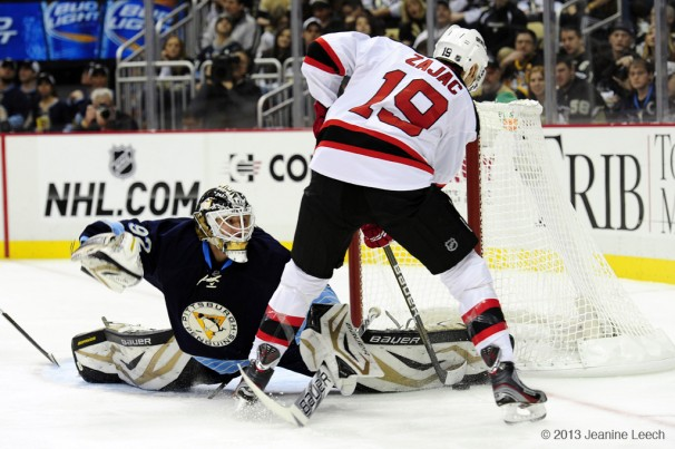 NHL: FEB 10 Devils at Penguins
