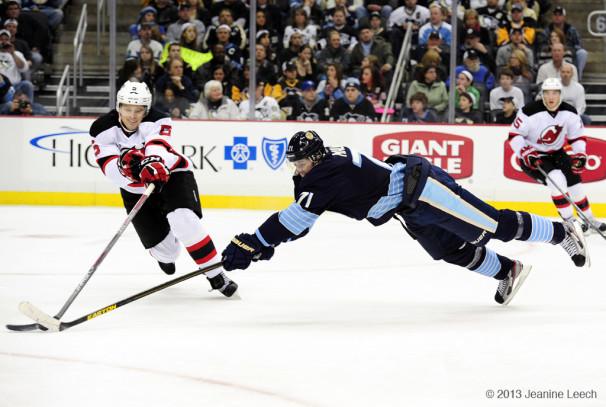 NHL: FEB 10 Devils at Penguins