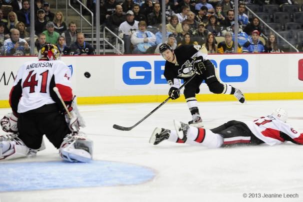 NHL: FEB 13 Senators at Penguins