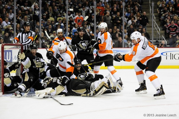 NHL: FEB 20 Flyers at Penguins