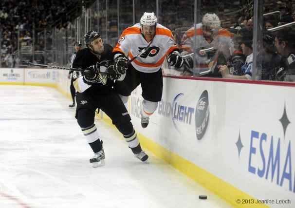 NHL: FEB 20 Flyers at Penguins