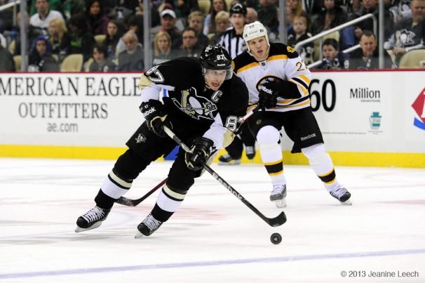 NHL: MAR 17 Bruins at Penguins