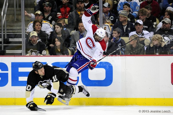 NHL: MAR 26 Canadiens at Penguins