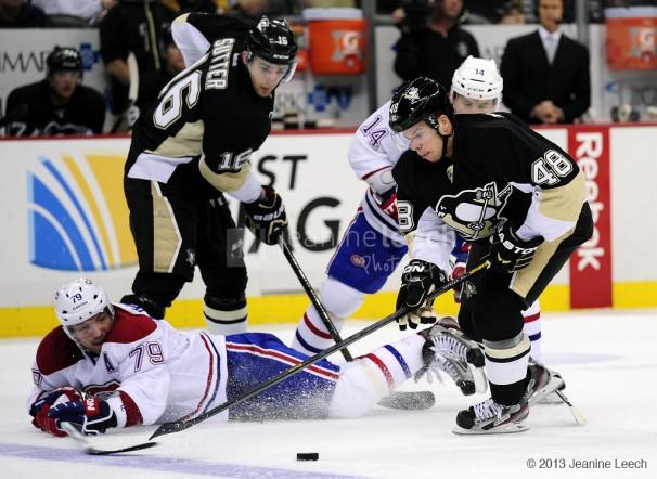 NHL: MAR 26 Canadiens at Penguins
