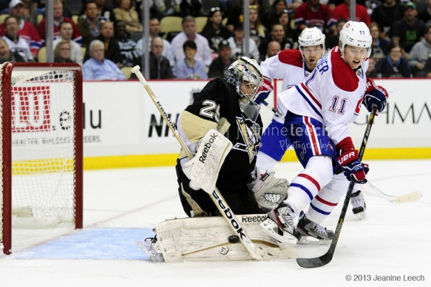 NHL: APR 17 Canadiens at Penguins