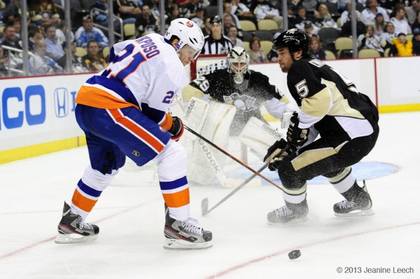 NHL: MAY 01 Eastern Conference Quarterfinals – Islanders at Penguins – Game 1