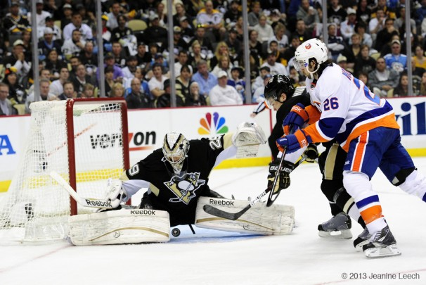 NHL: MAY 03 Eastern Conference Quarterfinals – Islanders at Penguins – Game 2