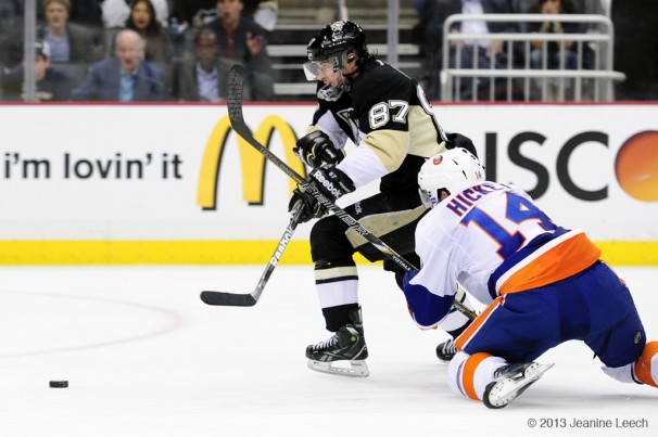 NHL: MAY 09 Eastern Conference Quarterfinals – Islanders at Penguins – Game 5