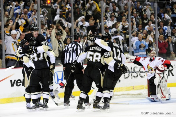 NHL: MAY 14 Eastern Conference Semifinal – Senators at Penguins – Game 1
