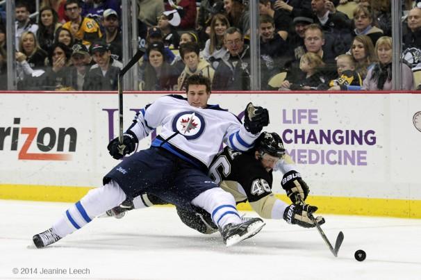 NHL: JAN 05 Jets at Penguins