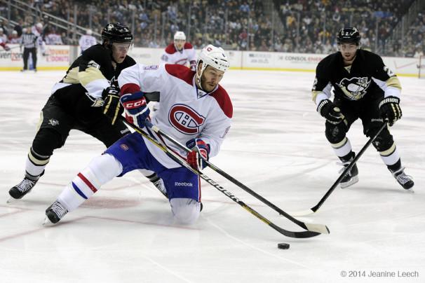NHL: JAN 22 Canadiens at Penguins