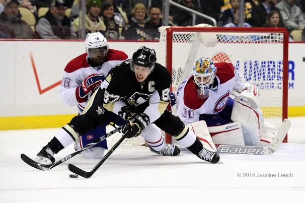 NHL: FEB 27 Canadiens at Penguins