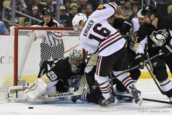 NHL: MAR 30 Blackhawks at Penguins