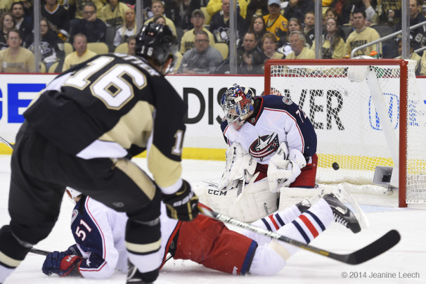 NHL: APR 16 Stanley Cup Playoffs – First Round – Blue Jackets at Penguins – Game 1