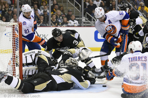 NHL: OCT 18 Islanders at Penguins
