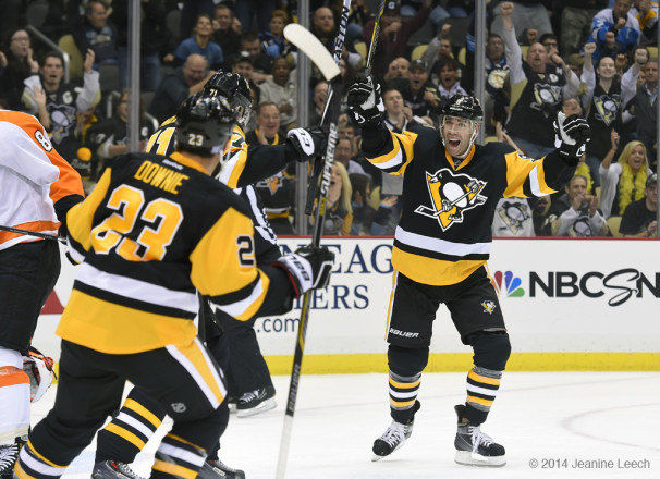 NHL: OCT 22 Flyers at Penguins