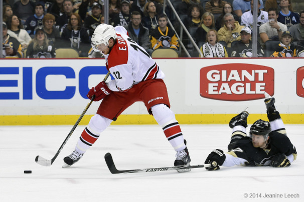 NHL: NOV 28 Hurricanes at Penguins