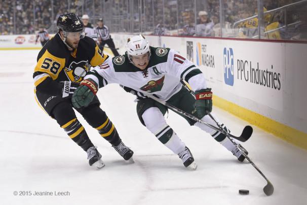 NHL: JAN 13 Wild at Penguins