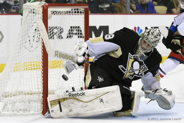 NHL: FEB 19 Blue Jackets at Penguins